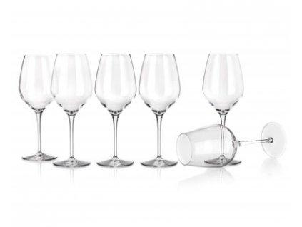 BORMIOLI Sada sklenic na víno TRE SENSI 430 ml, 6 ks, M