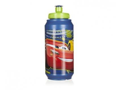 Láhev plastová sportovní CARS 3, 430 ml