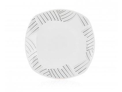 BANQUET Talíř porcelánový dezertní CHARME 18,5 x 18,5 cm