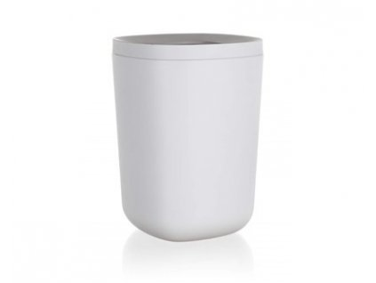 BRILANZ Koš odpadkový plastový 18 x 18 x 25 cm, bílý