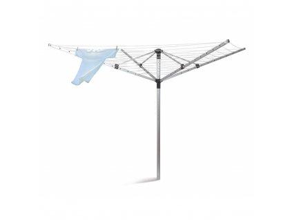 BRILANZ Sušák na prádlo venkovní 60 m, 4 ramena