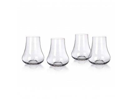 MAISON FORINE Sada sklenic na whisky SOMMELIER CHEST 240 ml, 4 ks