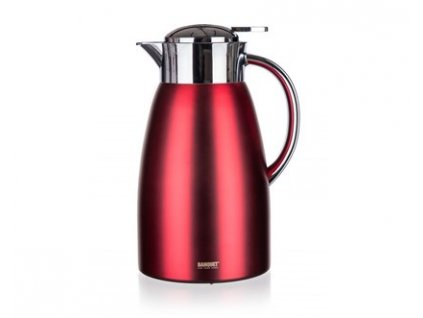 BANQUET Termoska nerezová METALLIC Red 1,5 l