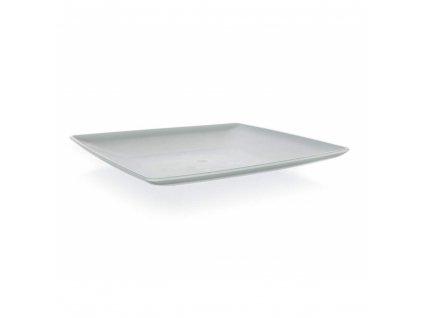 BANQUET Talíř dezertní hranatý CULINARIA 19 x 19 cm, šedý