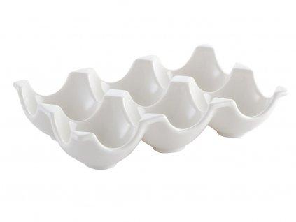 Porcelánový stojan na vejce 6ks