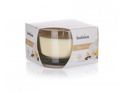BOLSIUS Svíčka ve skle 63/90 Vanilla