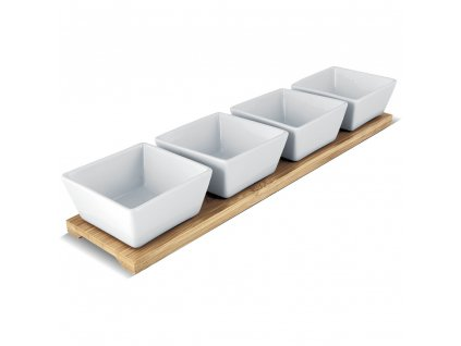 116819 servirovaci porcelanove misky lamart bamboo lt9020 5 dilu