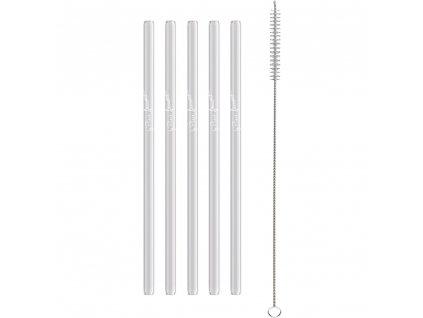 116084 sada sklenenych brcek lamart straw lt7055 5ks cira