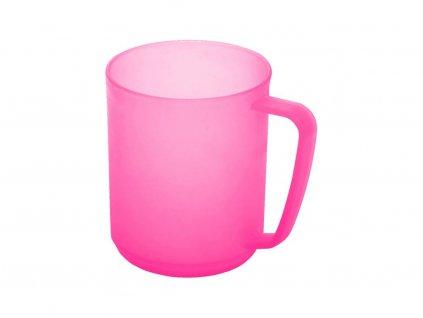 Plastový hrnek Hawaj 330ml růžový