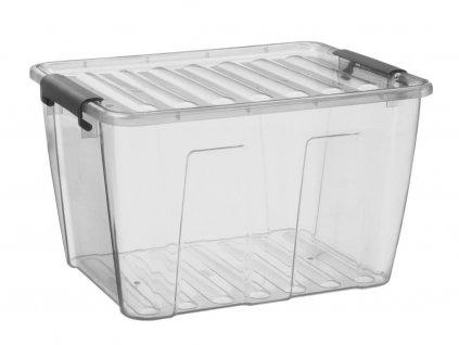 Plastový úložný box Home 15l