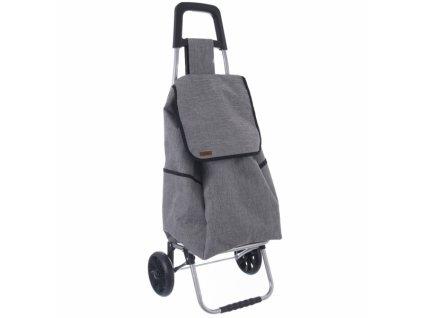 Nákupní taška na kolečkách Styl šedá