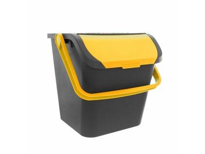 Odpadkový koš EKO 28l žlutá