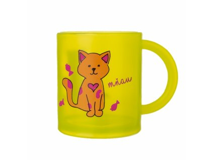 Hrnek RUBBY-Kočka 0,3 l