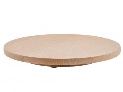 Dřevěný otáčecí podnos Florina 30cm