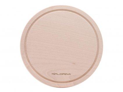 Dřevěné prkénko kulaté Florina 24cm
