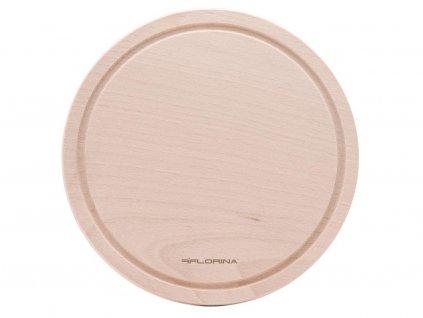 Dřevěné prkénko kulaté Florina EKO 30cm