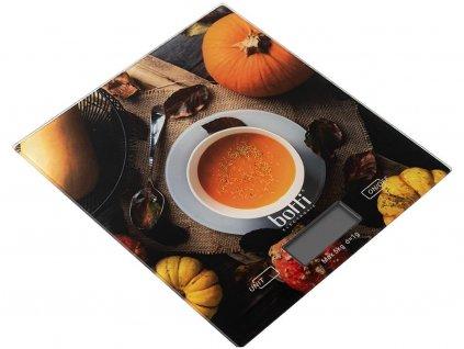 Kuchyňská váha Pumpkin hnědá