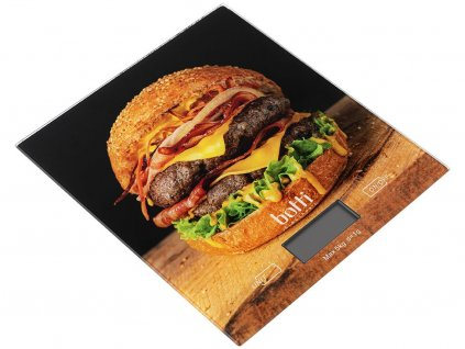 Kuchyňská váha Burger černá