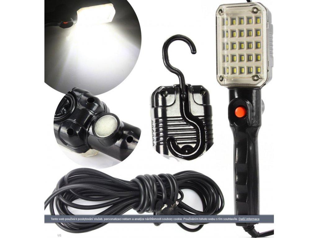 Screenshot 2021 09 17 at 11 37 15 Pracovní svítilna 25 LED, 230V s magnetem a hákem MAR POL Bonatrade