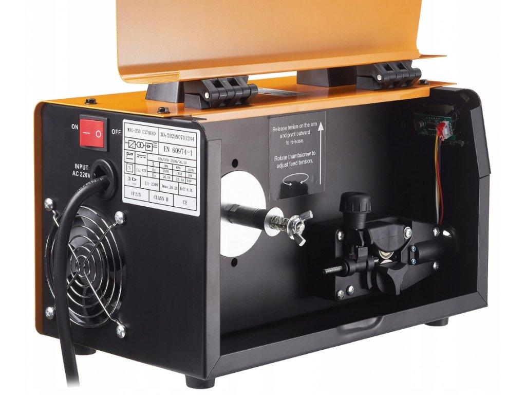 Svářečka MIG-MAG 250A FLUX