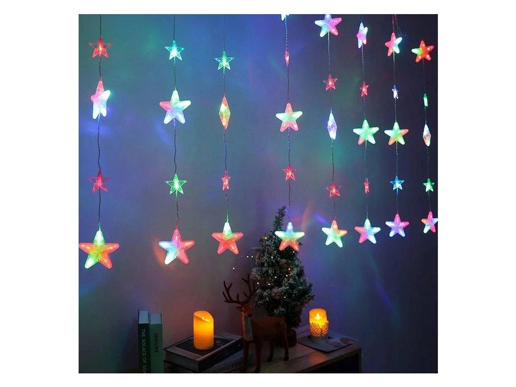 Screenshot 2021 10 12 at 13 17 47 PIĘKNE LAMPKI LED GWIAZDKI KURTYNA SOPLE GIRLANDA