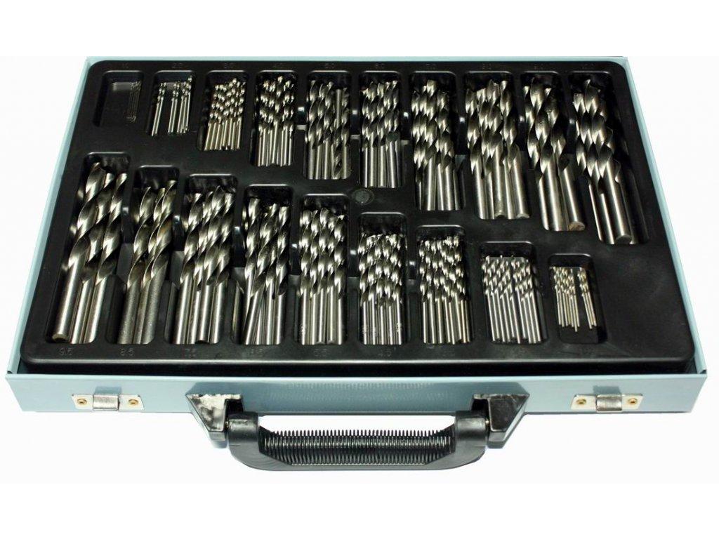 Sada vrtáků do železa HSS 1 - 10 mm 170 ks