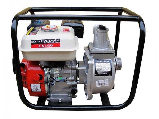 """Benzínové čerpadlo na vodu 2"""" 600L/min 5,5Kw"""