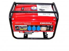 Elektrocentrála benzínová AVR 2500W (230V/12V DC)