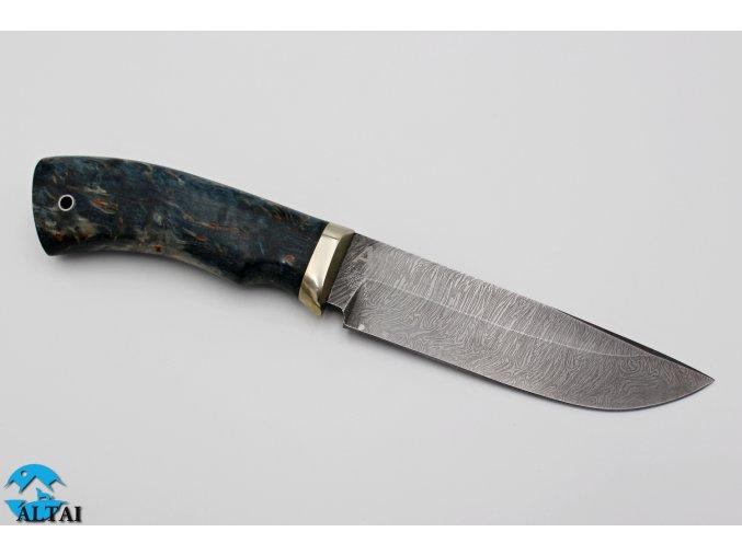 Lovecký nůž z damaškové oceli Morfeus