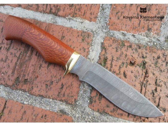 Nůž z damascénské oceli Ančar - lacewood
