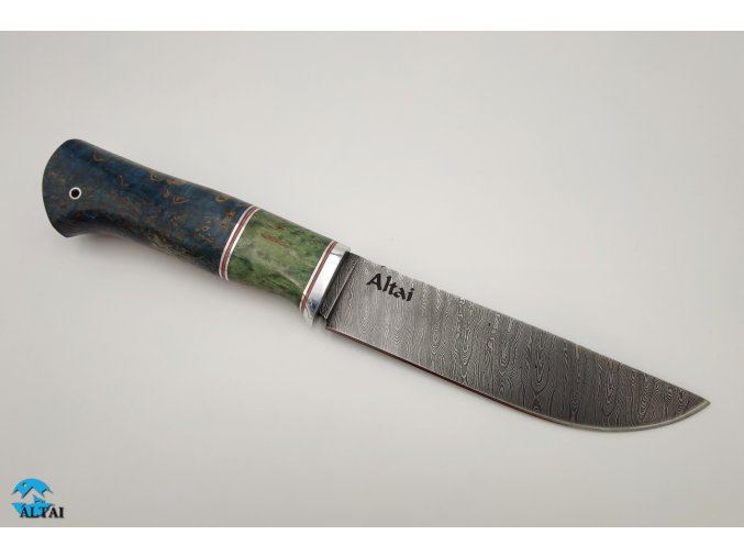 Damaškový nůž s pevnou čepelí Sibir