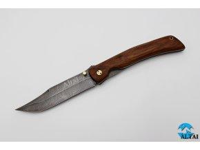 Zavírací nůž z damaškové oceli Arcana