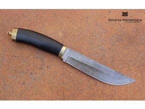 Lovecký nůž z damaškové oceli Sekáč (1)