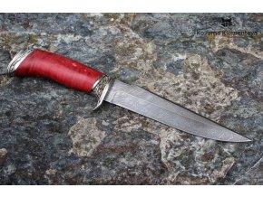 Nůž z damaškové oceli Kurgan (1)