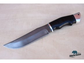 Ručně kovaný lovecký nůž z damaškové oceli Buchar 1