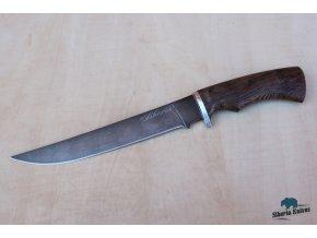 Filetovací nůž z damaškové oceli Piskoř