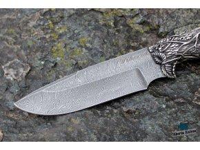 Damascenský nůž Siberian (2)