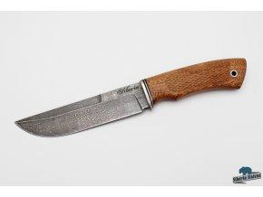 Lovecký nůž z damascenské oceli Makarov