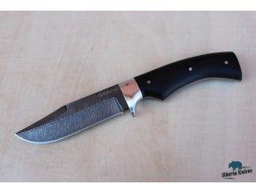Lovecký nůž z damaškové oceli Tremp