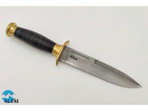 Nůž z damaškové oceli Výsadkář