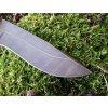 Nůž z damascénské oceli Vlk
