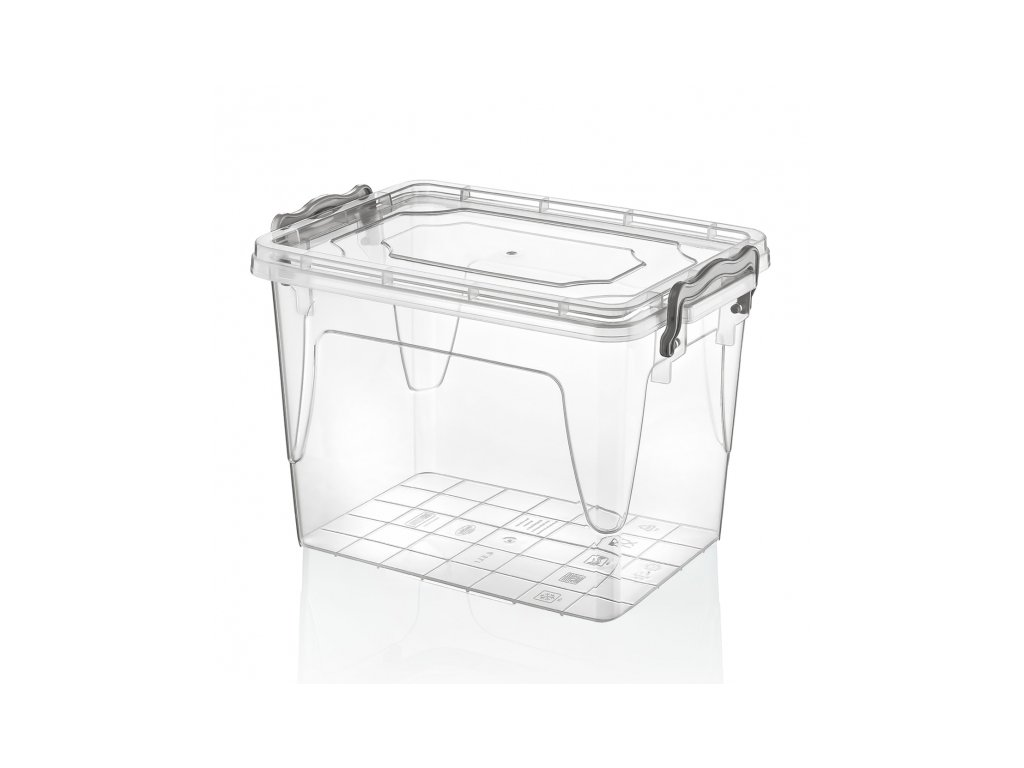 Plastový úložný box Multi obdélník 13l