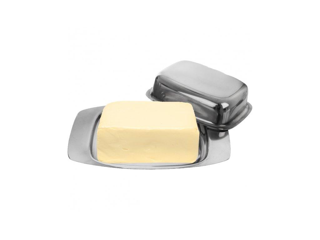Nerezová máslenka, 12 x 19,5 cm