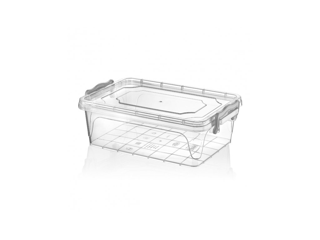 Plastový úložný box Multi obdélník 6 l