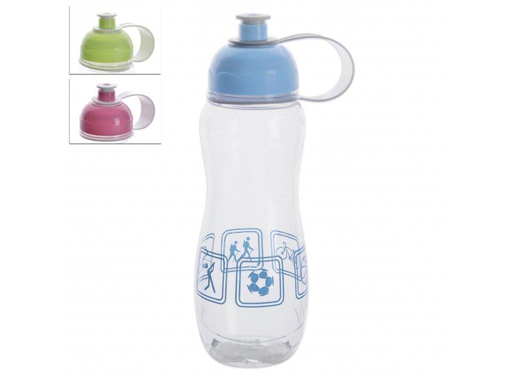 Plastová láhev s uzávěrem, 750 ml