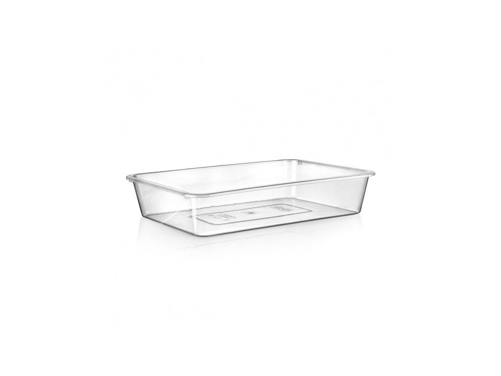 Plastová hranatá miska, 25 x 17 cm