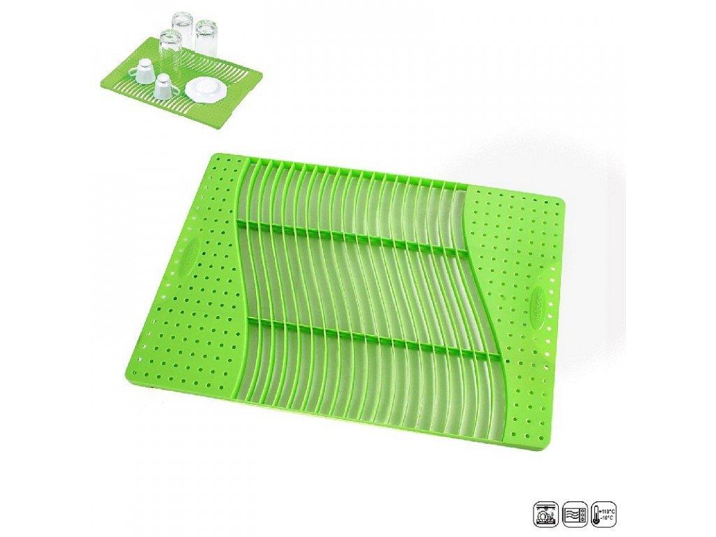 Plastový odkapávač na nádobí, 37 x 26,5 cm