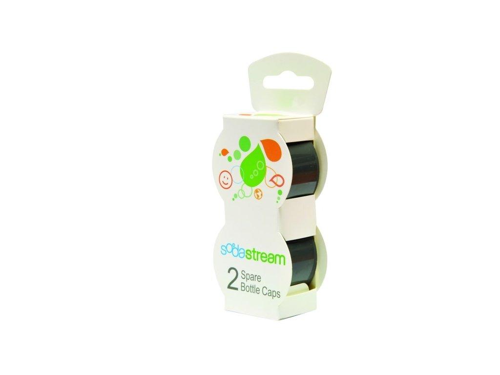 Víčko SodaStream na plastové láhve, šedé (2ks)