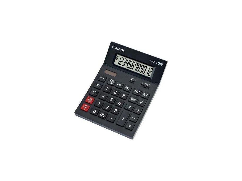 Kalkulačka Canon AS-2200 - šedá