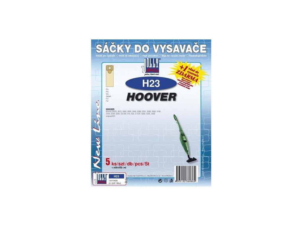 Sáčky do vysavače Jolly H23 (5ks) pro Hoover Acenta